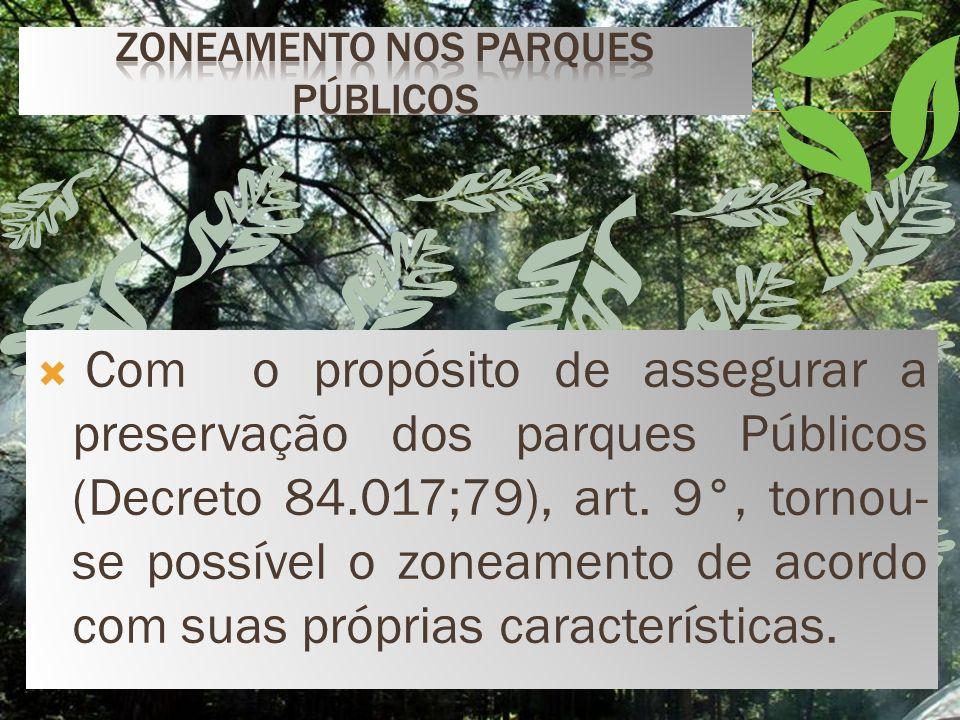 Lei n° 6.902/81, trata-se de um zoneamento ecológico econômico, que estabelecerá normas de uso, de acordo com o meio ambiente local. Pode ser composto