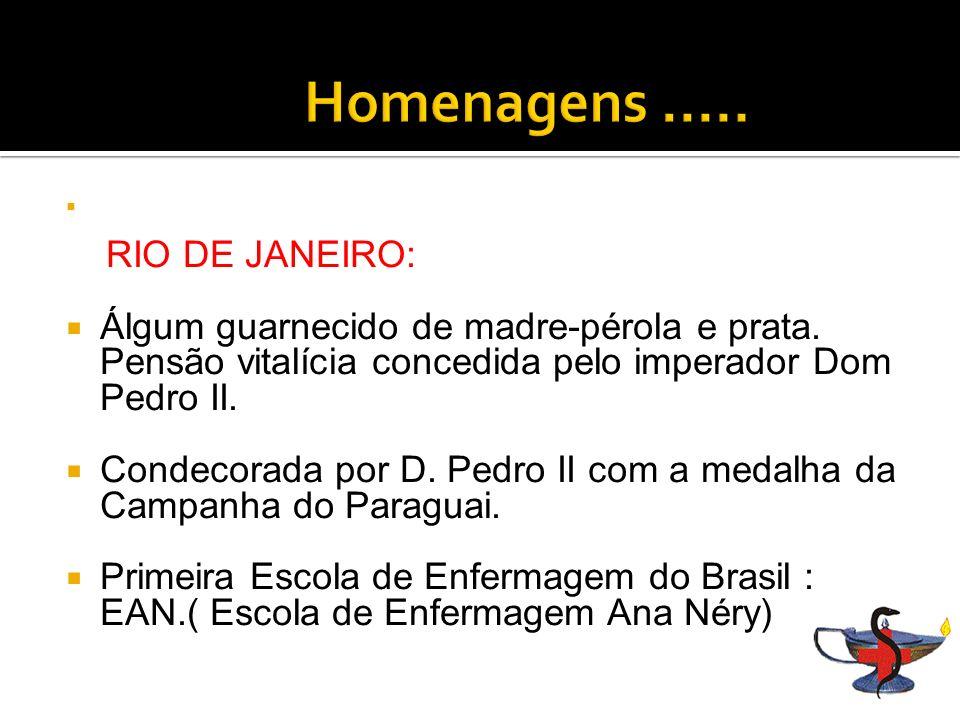 RIO DE JANEIRO: Álgum guarnecido de madre-pérola e prata.