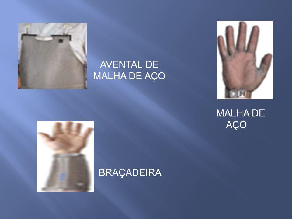 MALHA DE AÇO BRAÇADEIRA AVENTAL DE MALHA DE AÇO