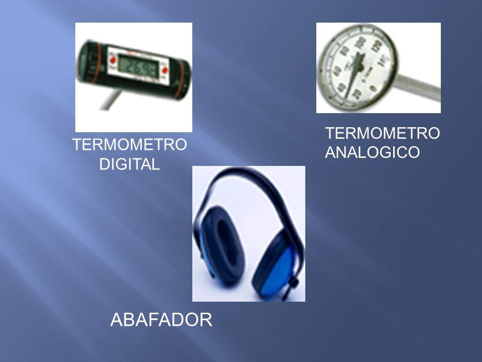 ABAFADOR TERMOMETRO DIGITAL TERMOMETRO ANALOGICO
