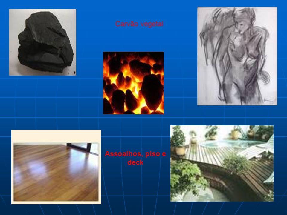 Assoalhos, piso e deck Carvão vegetal