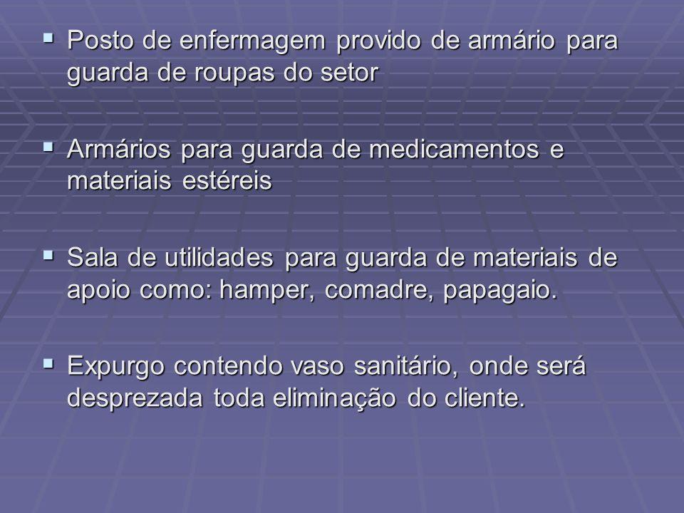 Posto de enfermagem provido de armário para guarda de roupas do setor Posto de enfermagem provido de armário para guarda de roupas do setor Armários p