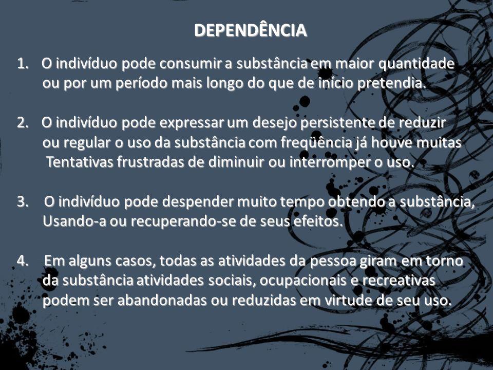 Cocaina Efeitos: Sensação de alerta; Euforia; Bem-estar; Aumento da Auto-estima; Diminuição da fome; Diminuição da necessidade de dormir Diminuição da fadiga