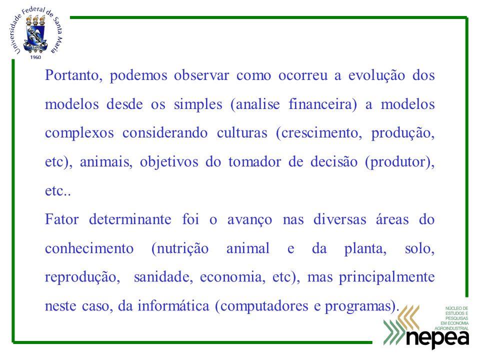 Exemplo de uso do modelo animal