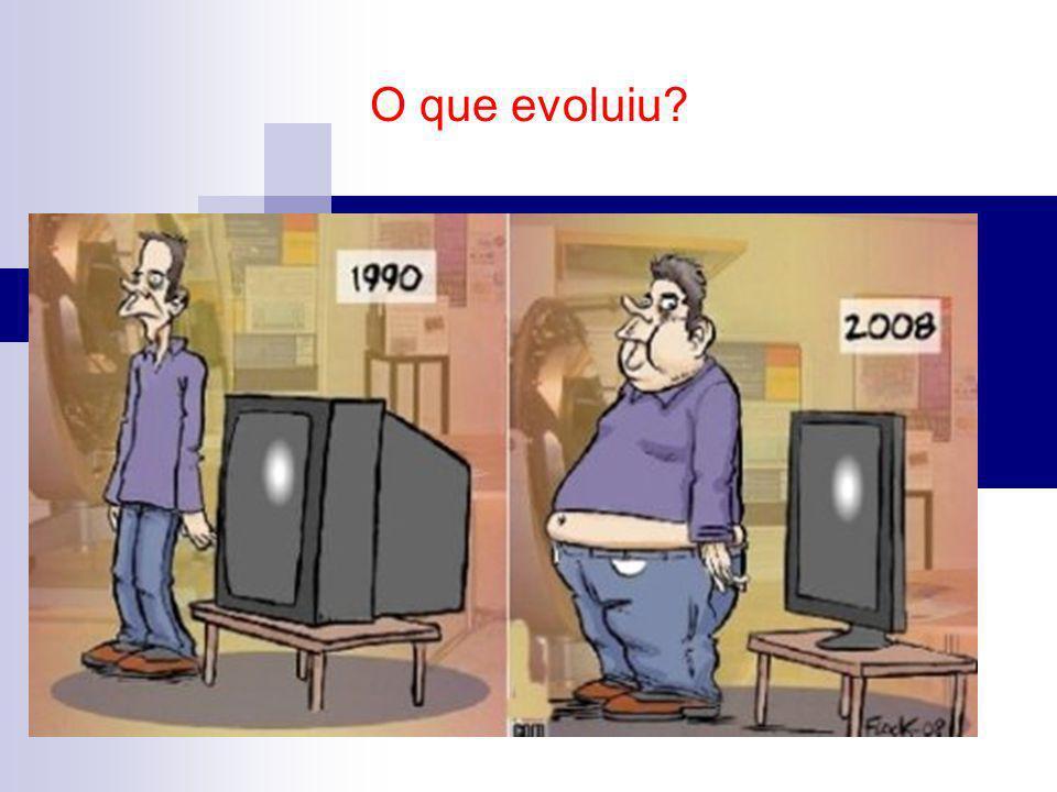 O que evoluiu?