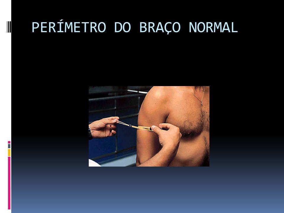 PERÍMETRO DO BRAÇO NORMAL
