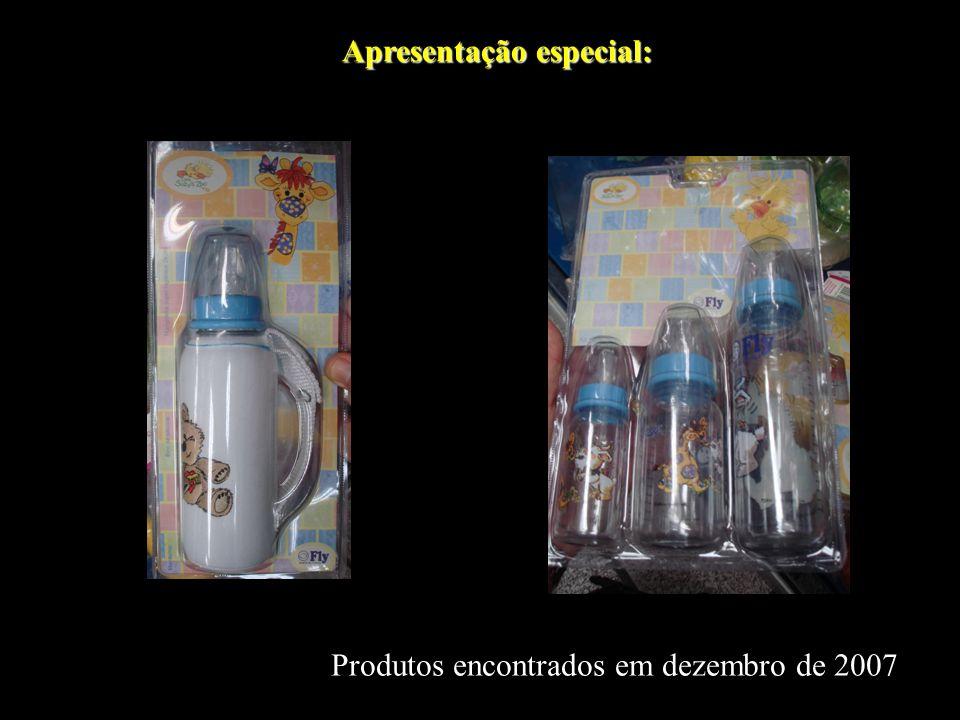 Apresentação especial: Produtos encontrados em dezembro de 2007