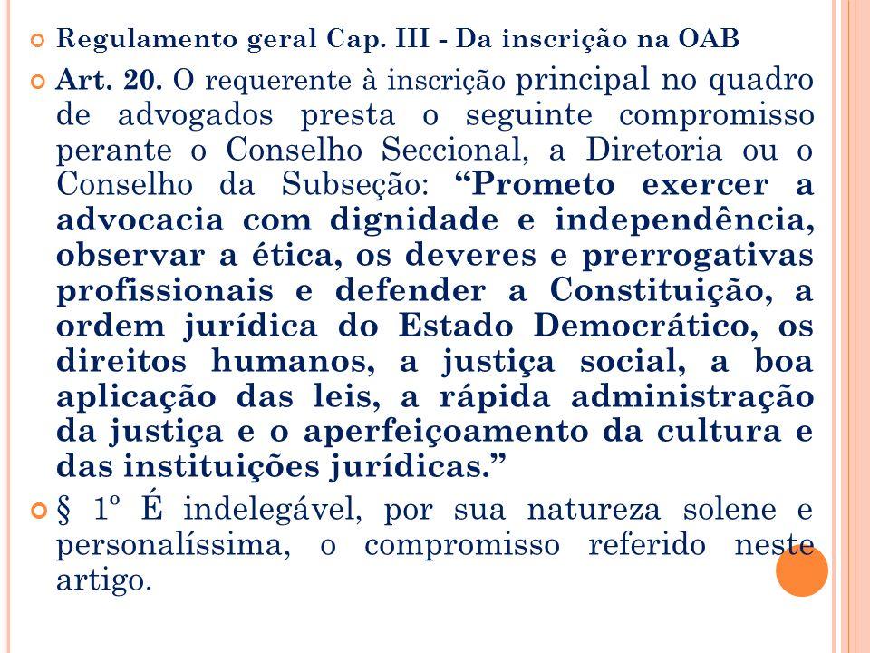 § 1o O Exame de Ordem é regulamentado em provimento do Conselho Federal da OAB. § 2o O estrangeiro ou brasileiro, quando não graduado em direito no Br