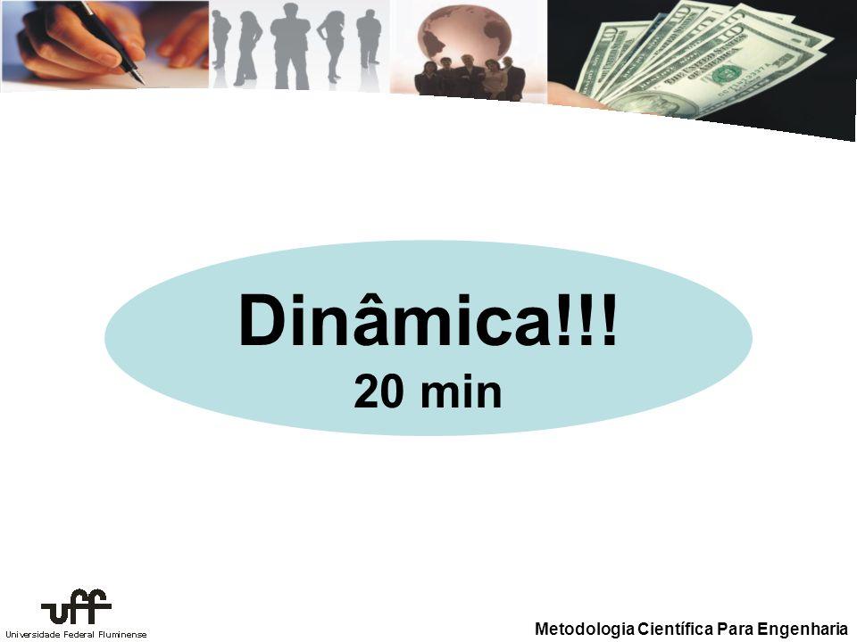 Metodologia Científica Para Engenharia Dinâmica!!! 20 min