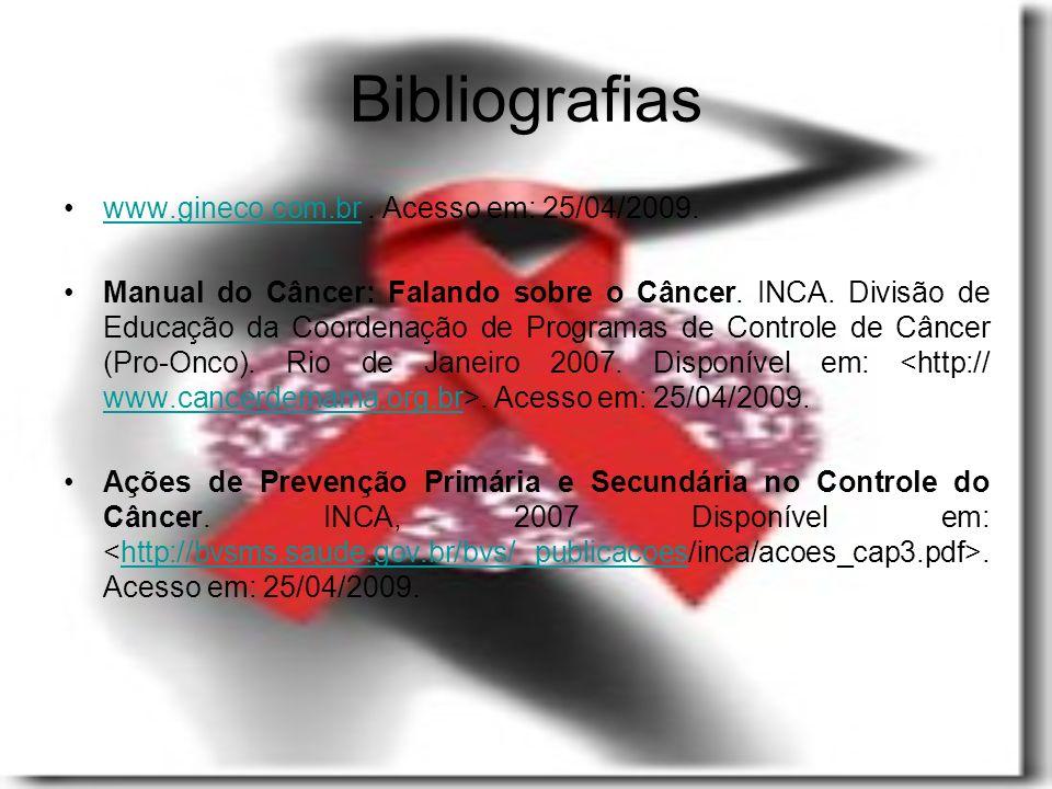 Bibliografias www.gineco.com.br.