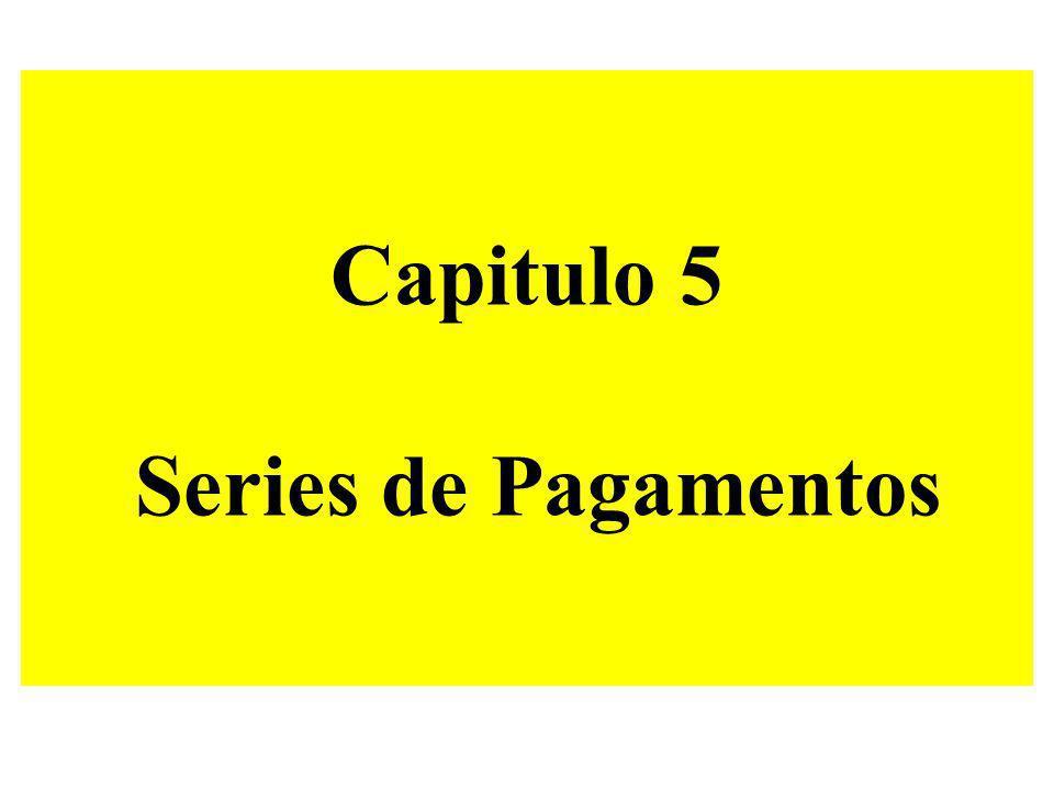 Capitulo 5 Series de Pagamentos