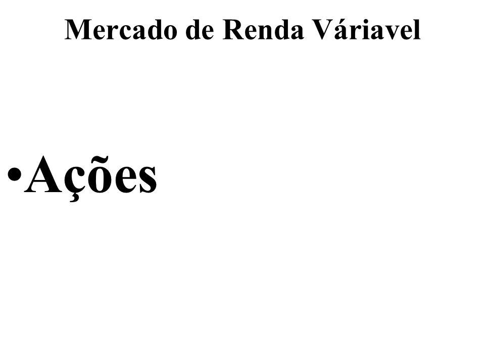 Mercado de Renda Váriavel Ações