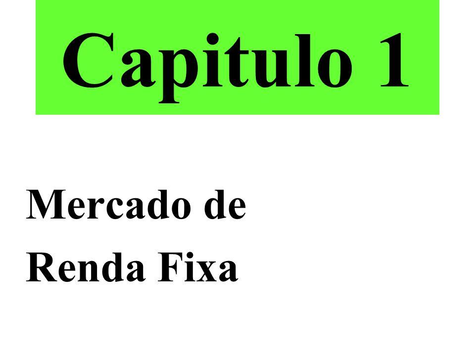 Capitulo 1 Mercado de Renda Fixa