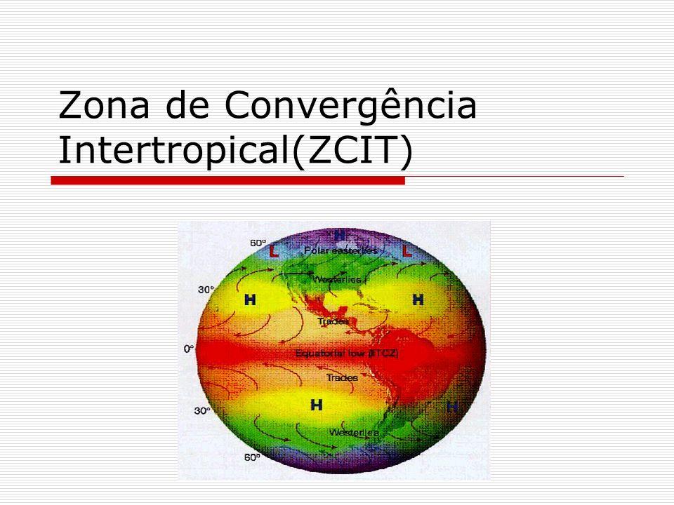 El Niño Diversos estudos sugerem padrões de teleconexões atmosféricas associados ao El Niño sobre o Pacífico Equatorial, influenciando a formação de anomalias do gradiente meridional de TSM (dipolo) no Atlântico Equatorial.