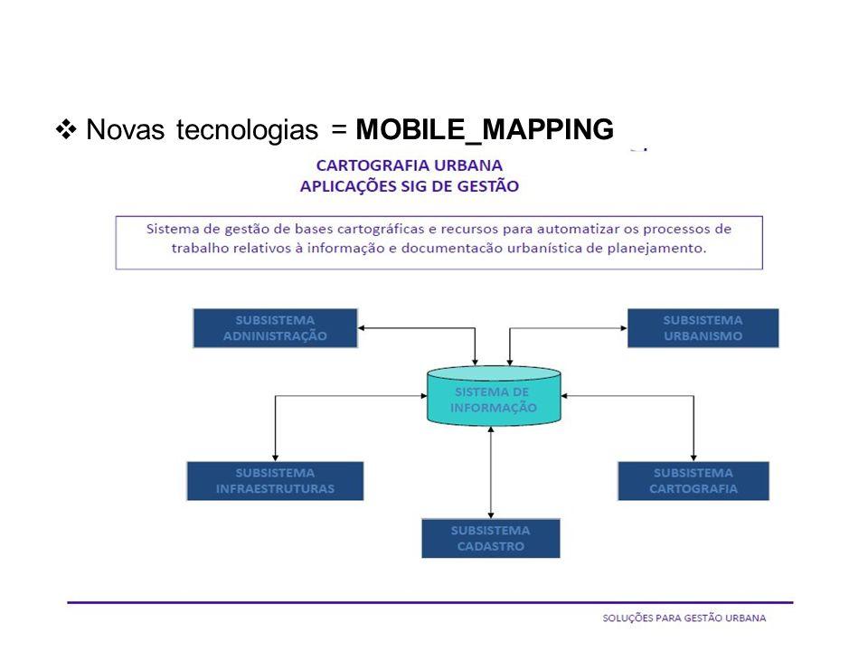 Base Cartográfica da AMPLA e sua utilização.. Novas tecnologias = MOBILE_MAPPING