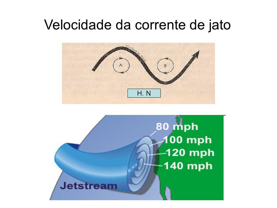 ISOTACAS As linhas pontilhadas, isotacas, unem ou passam por lugares onde a velocidade do vento tem o mesmo valor absoluto, independente de sua direção e sentido.