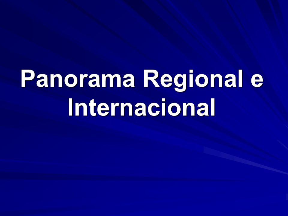 Panorama Regional e Internacional