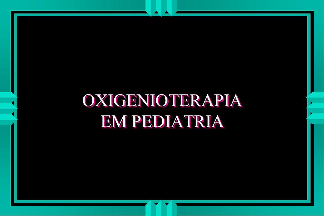 oxigenioterapia complicações u Contaminação de Equipos : pseudomonas, stafilococos, E.coli, klebsiella.