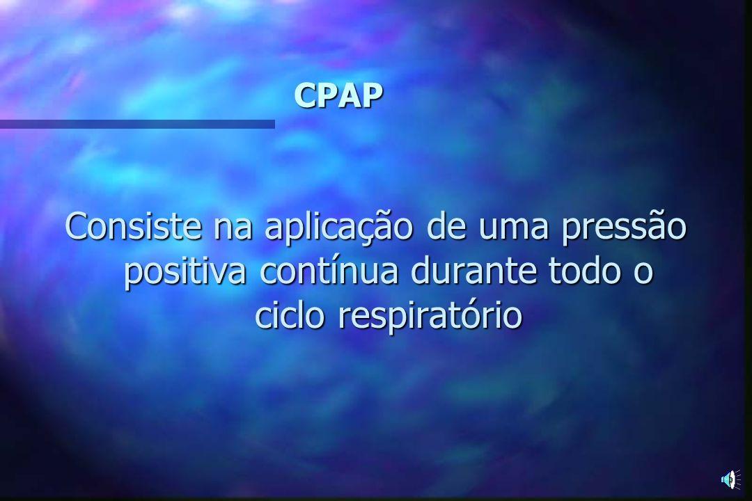 CPAP Pressão Positiva Contínua em Vias Aéreas