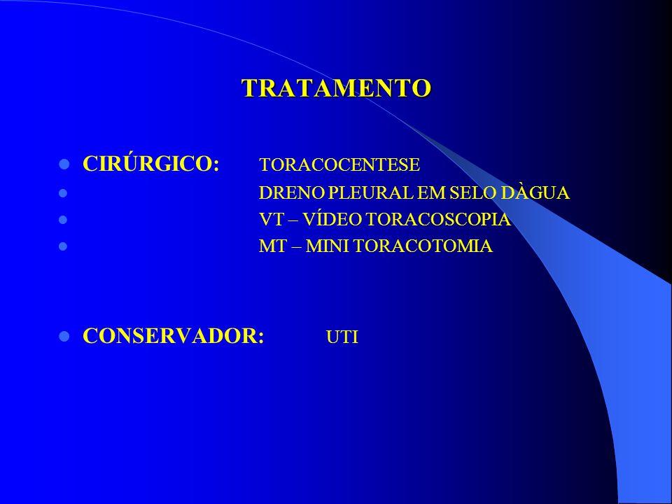 TRAUMAS TORÁCICOS Agulha no tórax RN