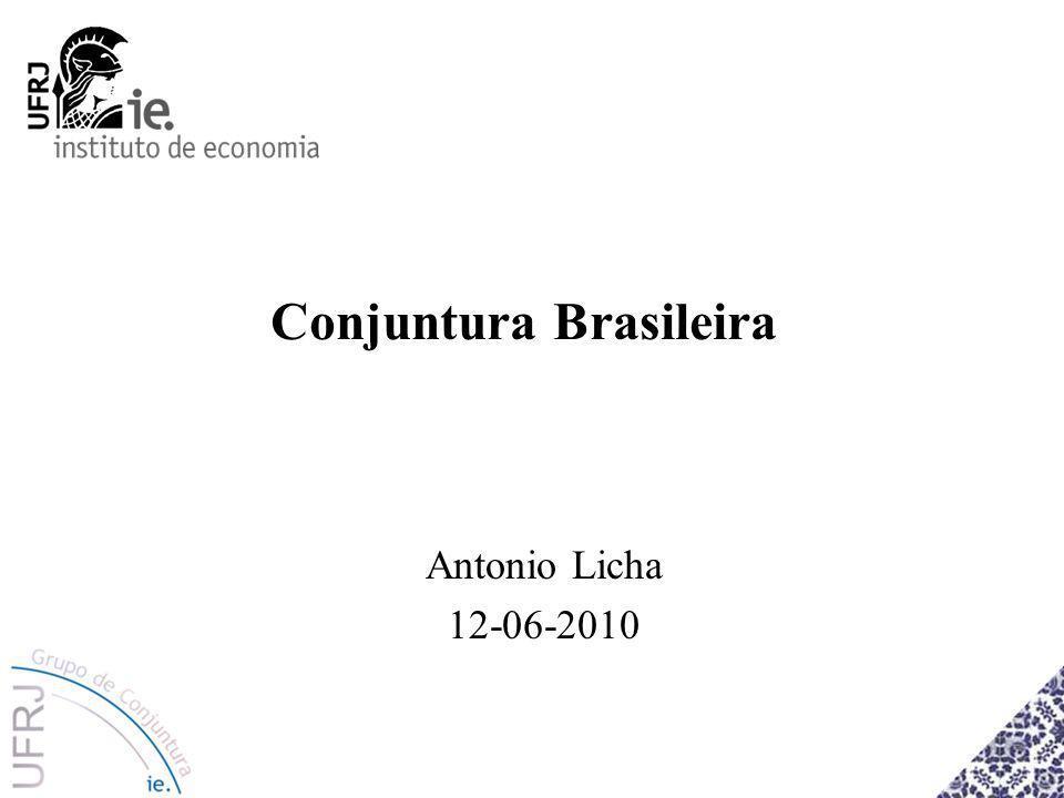 Conjuntura Brasileira Antonio Licha 12-06-2010
