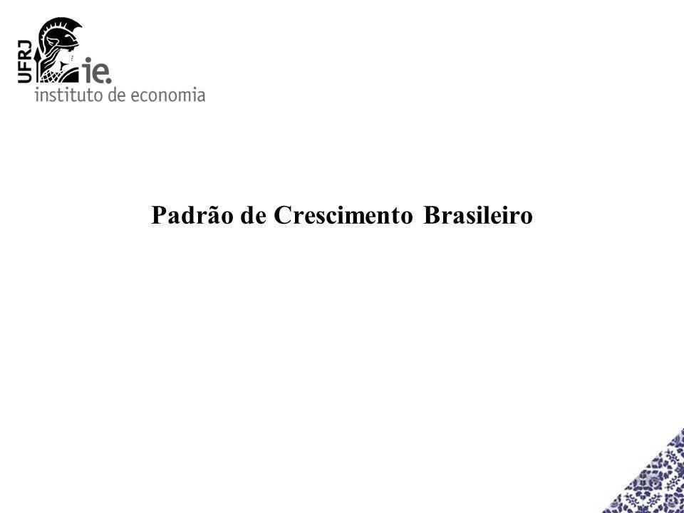 Padrão de Crescimento Brasileiro