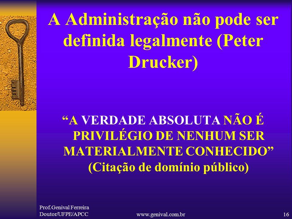 Prof.Genival Ferreira Doutor/UFPE/APCCwww.genival.com.br15 O AUDITOR PRECISA OUVIR...(BREVE ESTÓRIA) A MULHER DESMAIOU!! Se ela tivesse ouvido....