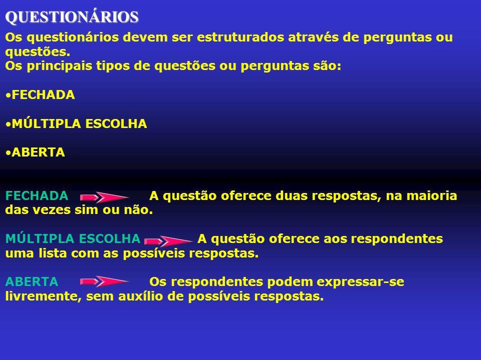 PASSO 4 - ANALISAR e INTERPRETAR os DADOS da PESQUISA Posteriormente à coleta de dados, deve-se analisa-los e interpreta- los.