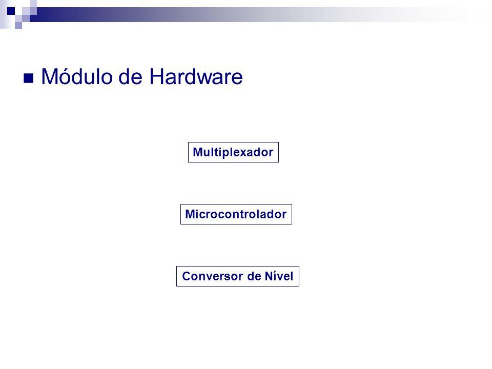 Módulo de Hardware Multiplexador Microcontrolador Conversor de Nível