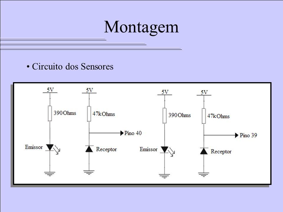 Circuito dos Sensores