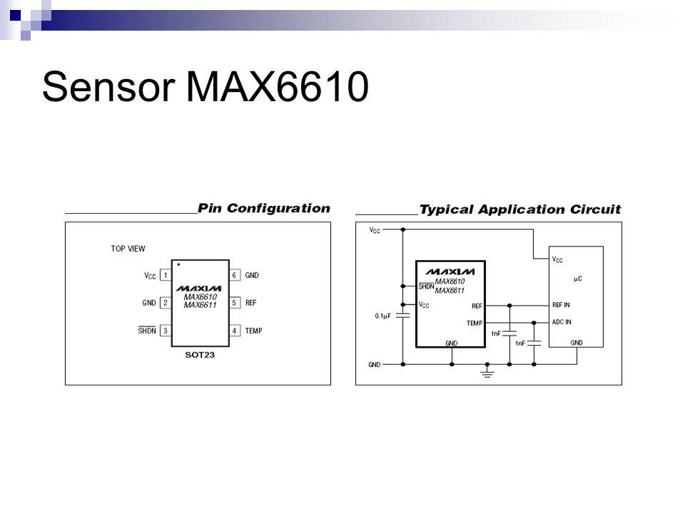Sensor MAX6610