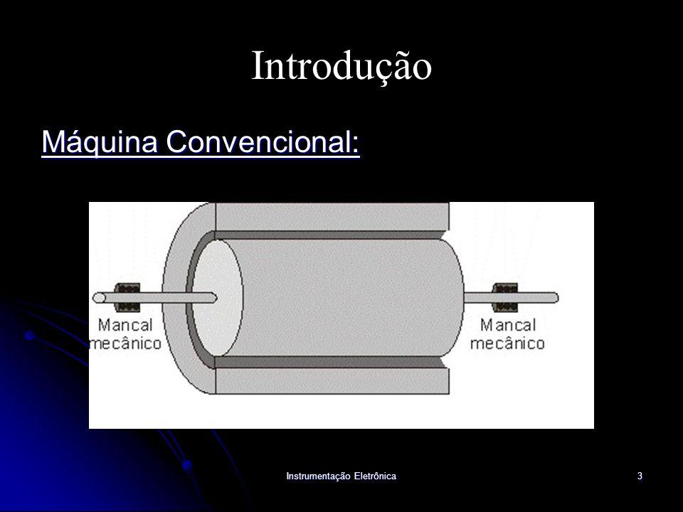 Instrumentação Eletrônica3 Introdução Máquina Convencional: