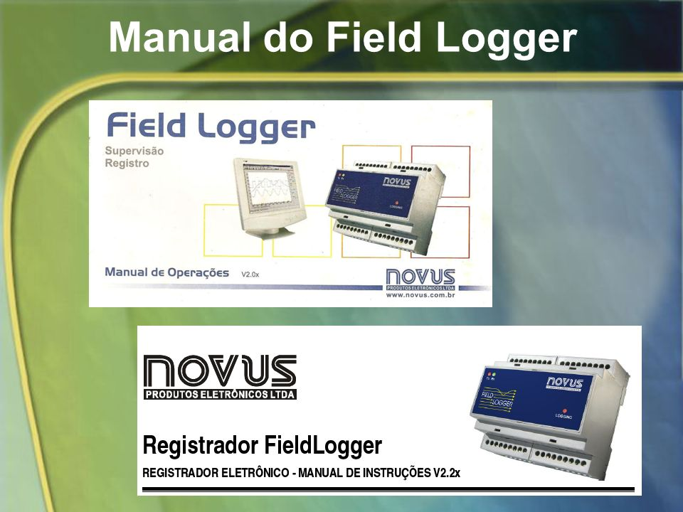 Manual do Field Logger
