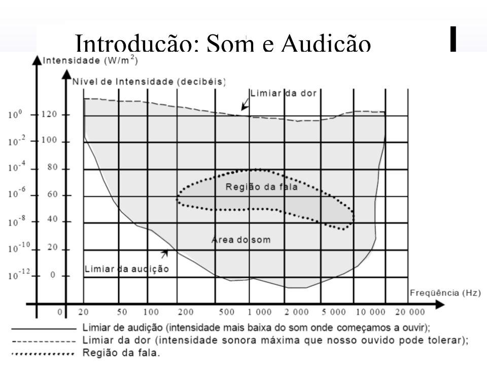Efeitos prejudiciais do Ultra-som e do audível de alta freqüência: Os danos na audição devido a exposição permanente em ambientes ruidosos é cumulativo e é irreversível.
