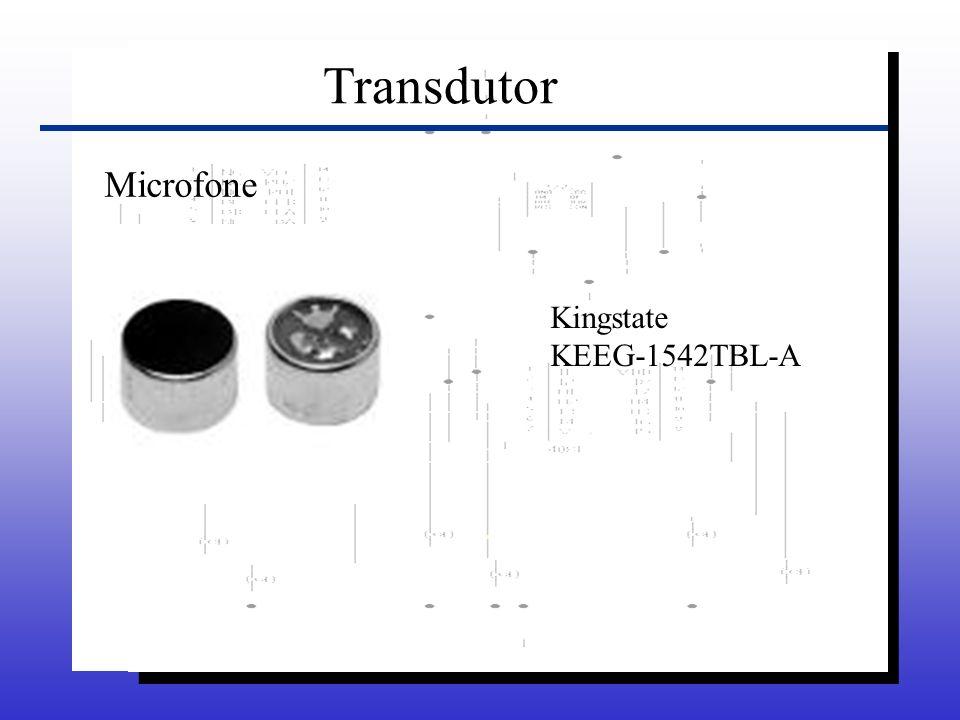 Transdutor Microfone Kingstate KEEG-1542TBL-A