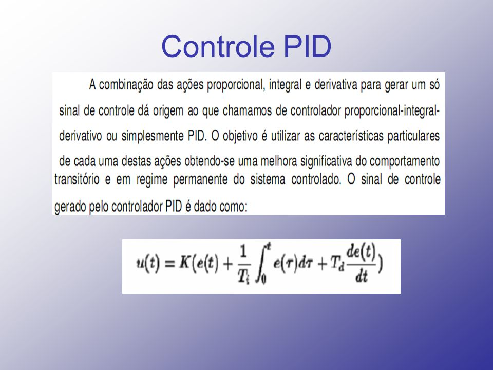 Controle PID