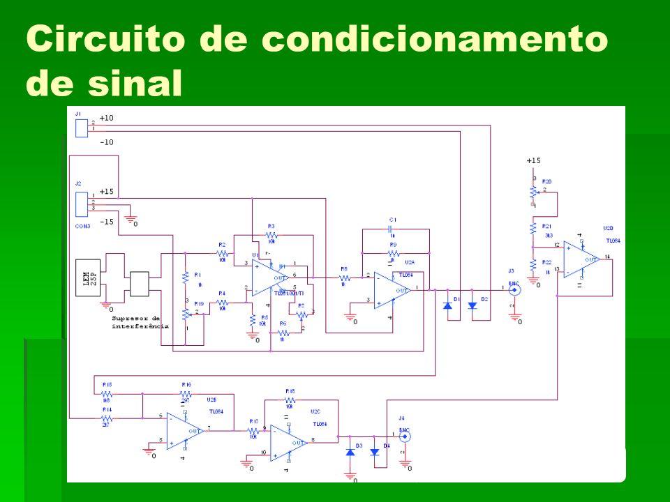 Circuito de condicionamento de sinal