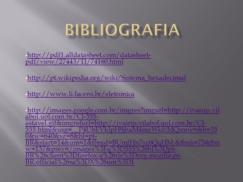 http://pdf1.alldatasheet.com/datasheet- pdf/view/27443/TI/74160.html http://pdf1.alldatasheet.com/datasheet- pdf/view/27443/TI/74160.html http://pt.wi