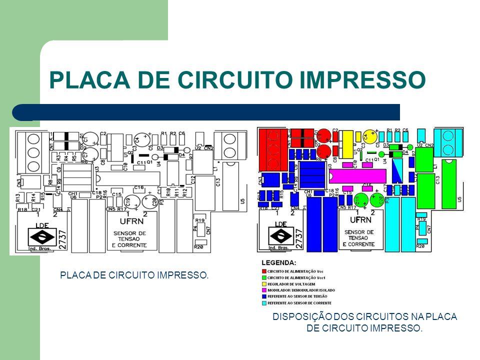 PLACA DE CIRCUITO IMPRESSO PLACA DE CIRCUITO IMPRESSO. DISPOSIÇÃO DOS CIRCUITOS NA PLACA DE CIRCUITO IMPRESSO.