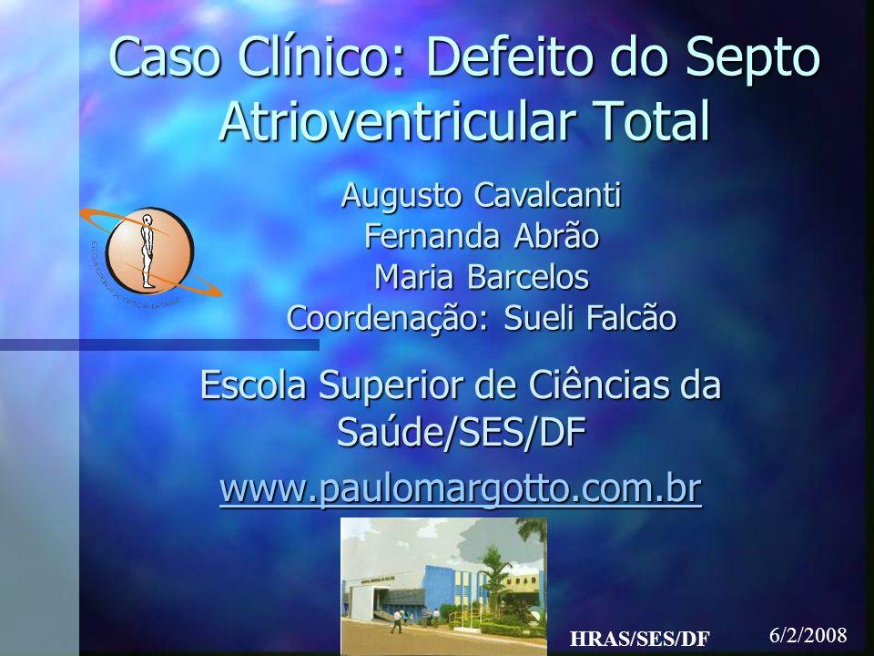 Caso clínico BGJ, 1m15d, natural de Taguatinga, procedente da Bolívia.BGJ, 1m15d, natural de Taguatinga, procedente da Bolívia.