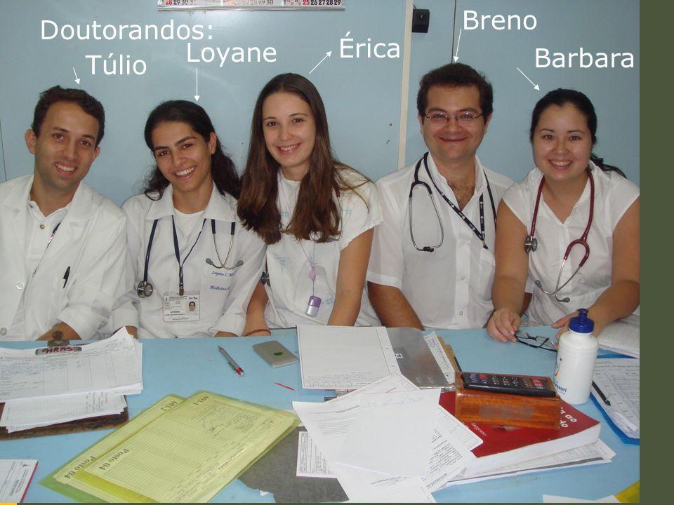 Doutorandos: Túlio Loyane Érica Breno Barbara