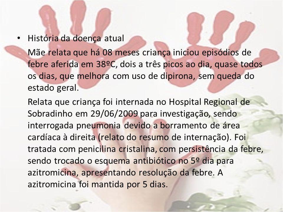 Etilogia Infecções (30-50%) Epstein–Barr, citomegalovírus, hepatites por vírus A, B ou C Brucelose, ITU, osteomielite, bartonelose, endocardite, leptospirose, salmonelose, tuberculose, mastoidite, tularemia, sinusite, infeção dentária oculta, abscesso abdominal ou retroperitoneal, meningococcemia crônica Malária, toxoplasmose, Chagas, calazar Toxocara canis e T.