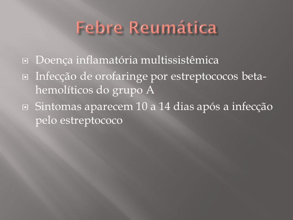 Resposta imune anormal do hospedeiro à infecção pelo estreptococo.