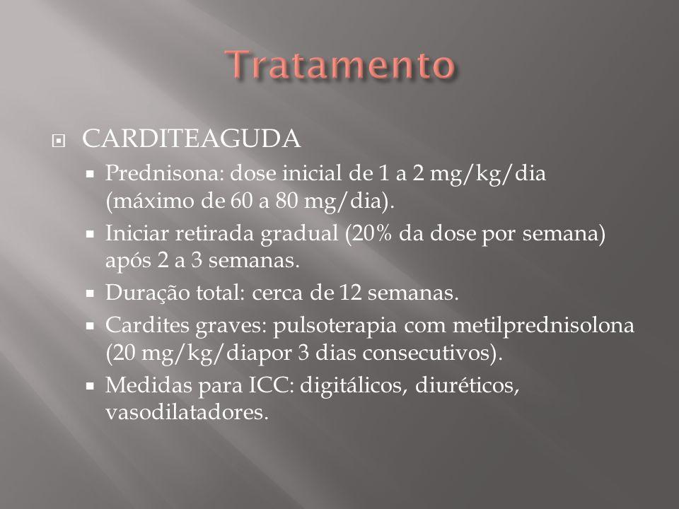 CORÉIA Haloperidol: dose inicial de 0.5 a 1.0 mg/dia, aumentando-se 0.5 mg/dia a cada 3 dias até a remissão.