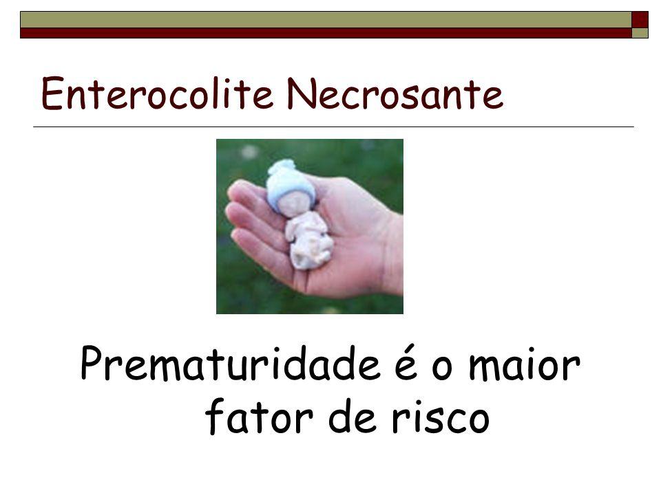 Enterocolite Necrosante Complicações Estenose intestinal pós-cicatricial Fístula Abscesso ECN recorrente Síndrome do intestino curto Síndrome disabsortiva Colestase