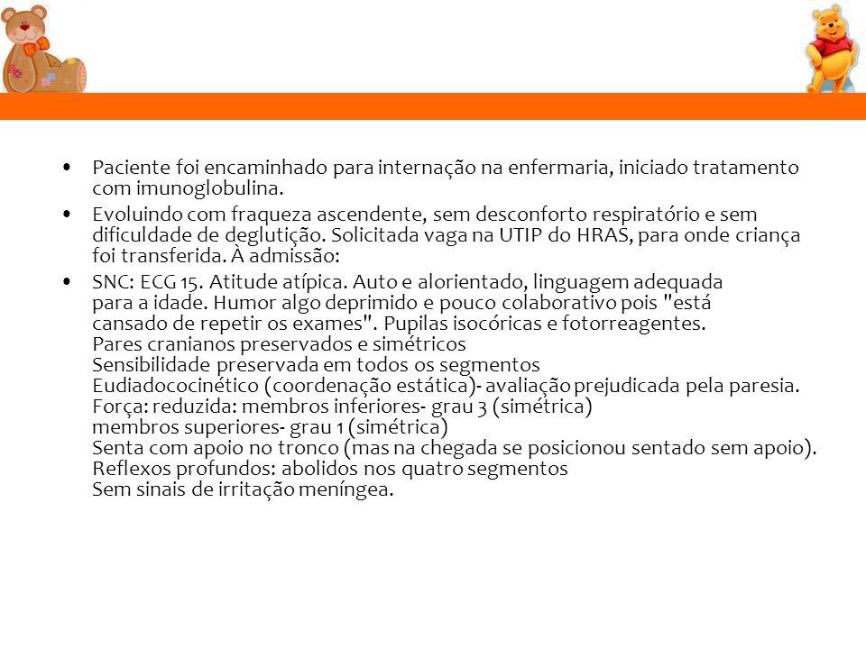 SÍNDROME DE GUILLAIN-BARRÉ Bolan et al.Revista da AMRIGS, Porto Alegre, 51 (1): 58-61, jan.-mar.
