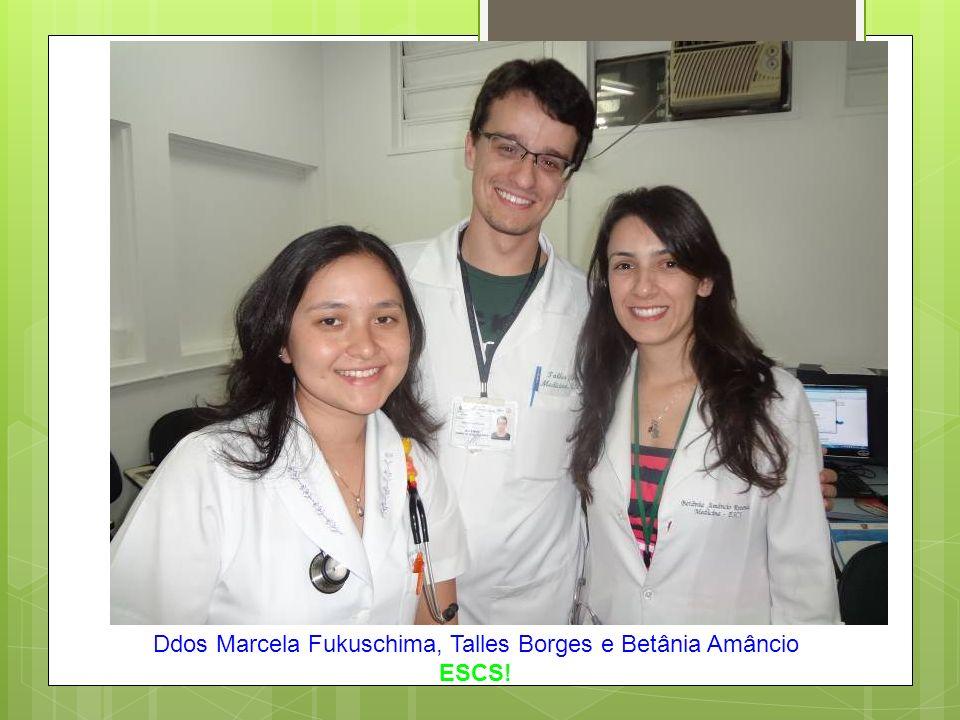 Ddos Marcela Fukuschima, Talles Borges e Betânia Amâncio ESCS!