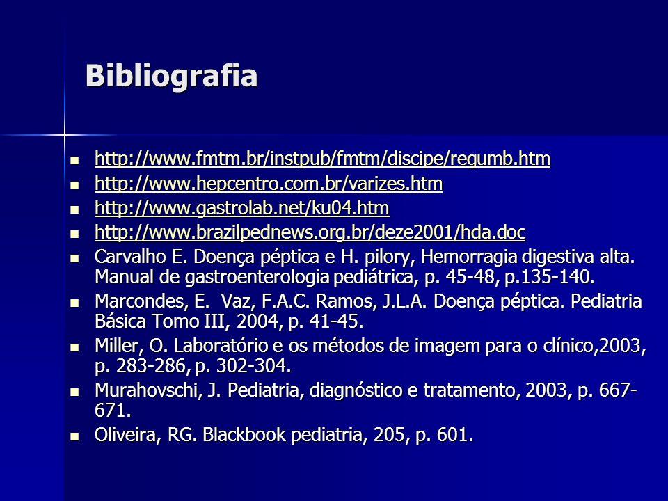 Bibliografia http://www.fmtm.br/instpub/fmtm/discipe/regumb.htm http://www.fmtm.br/instpub/fmtm/discipe/regumb.htm http://www.fmtm.br/instpub/fmtm/dis