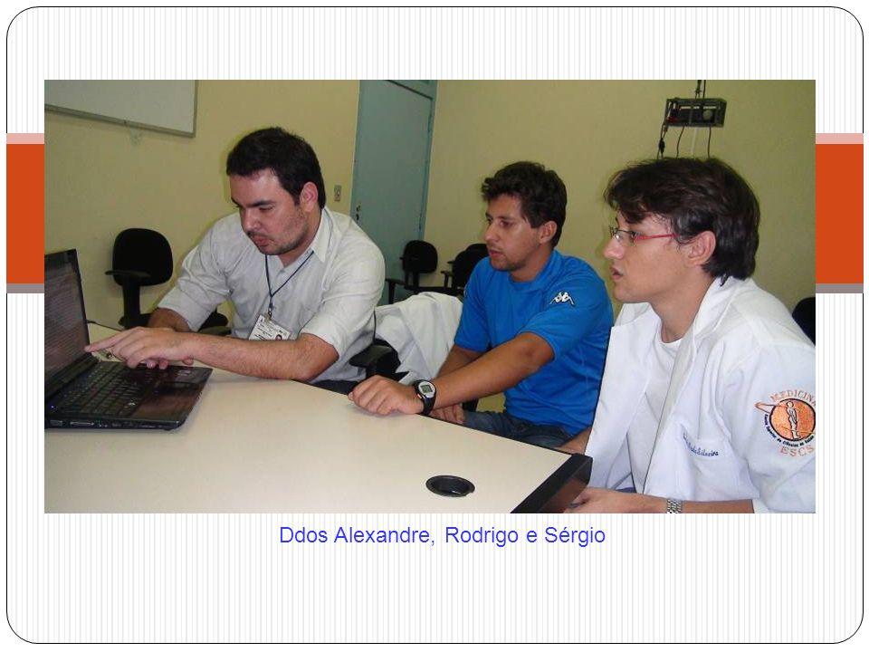 Ddos Alexandre, Rodrigo e Sérgio
