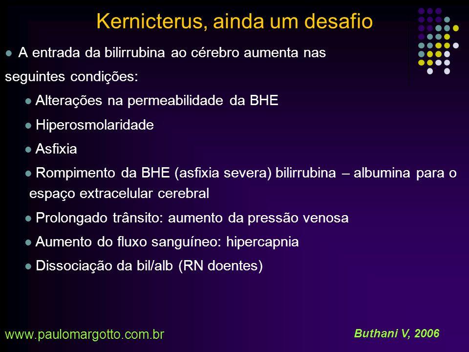 Kernicterus, ainda um desafio A REVERSIBILIDADE É POSSÍVEL.